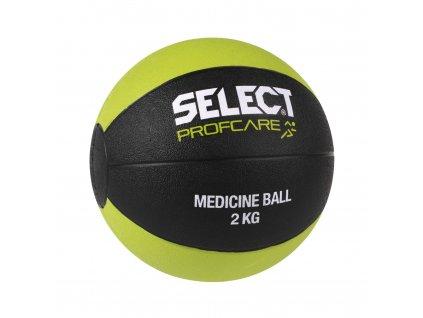 Míč medicinální select 2kg černo zelená