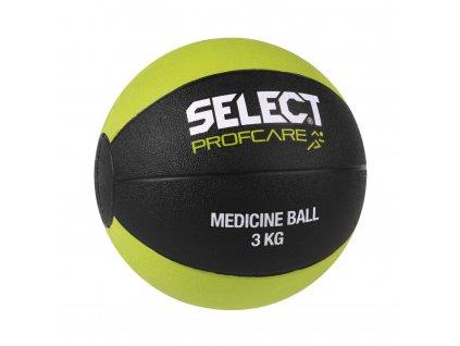 Míč medicinální Select 3kg černo zelená