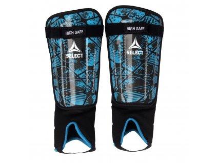 Chrániče holení Select Shin guards High Safe modro černá