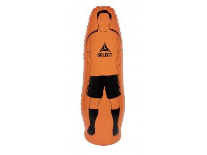 Fotbalová figurína Select Inflatable Kick Figure oranžová