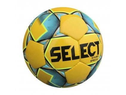 Fotbalový míč Select FB Samba Special žluto modrá