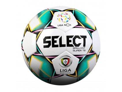Fotbalový míč Select FB Brillant Super TB bílo zelená