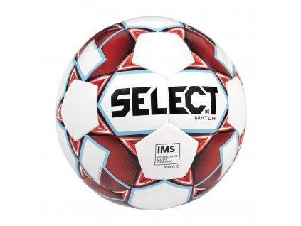 Fotbalový míč Select FB Match IMS bílo červená