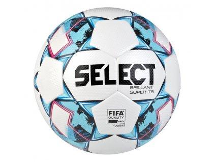 Fotbalový míč Select FB Brillant Super TB bílo modrá