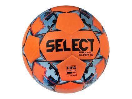 Fotbalový míč Select FB Brillant Super TB oranžovo modrá