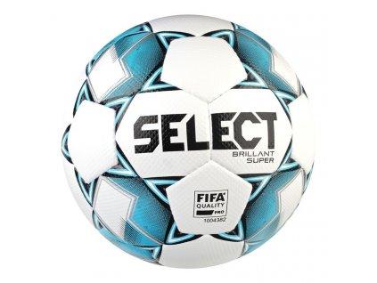 Fotbalový míč Select FB Brillant Super bílo modrá