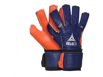Brankářské rukavice Select GK gloves 03 Youth modro oranžová