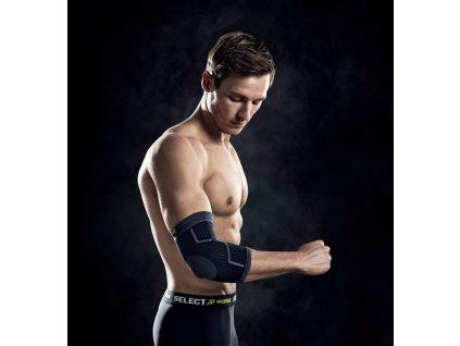 Bandáž lokte Select Elbow support černá