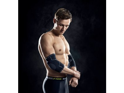 Select Elbow support w/pads 2-pack černá