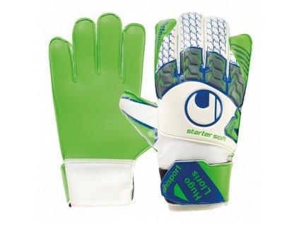 Brankářské rukavice Uhlsport Tension Green Starter Soft Lloris