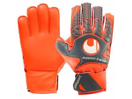 Dětské brankářské rukavice Uhlsport AeroRed Soft SF