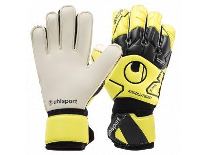 Brankářské rukavice Uhlsport Absolutgrip Flex Frame Carbon