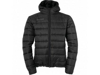 Uhlsport Essential Puffer Hood Jacket černá UK XL Pánské