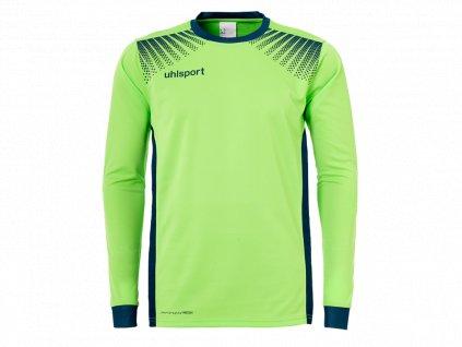 Uhlsport Goal světle zelená/tmavě modrá UK XXL Pánské