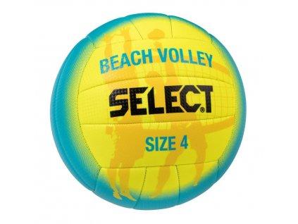 Select Volejbalový míč VB Beach Volley modro žlutá