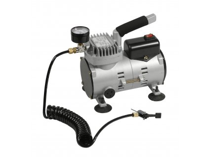 Kompresor na míče Select Air compressor mini stříbrná