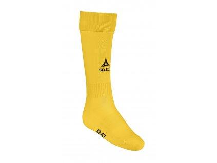 Select Fotbalové ponožky Football socks Elite žlutá