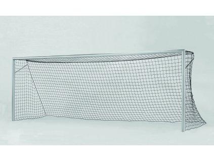 Fotbalová branka FIFA bílá + síťové oblouky 30 mm, svařované rohy