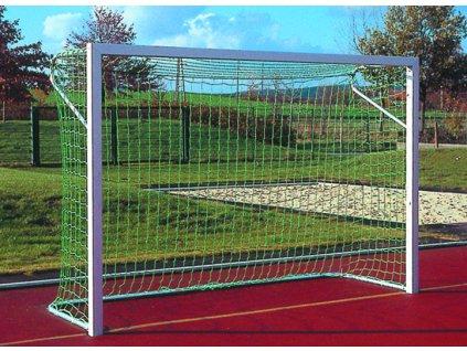 Fotbalová branka Futsal + síťové oblouky, profil hranatý