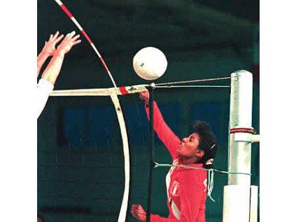 Volejbalové antény, jednodílné