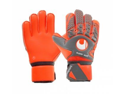 Brankářské rukavice Uhlsport Aerored Supersoft