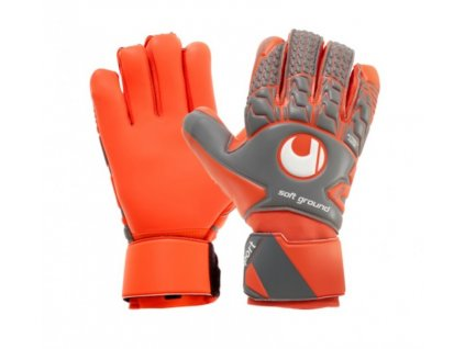 Brankářské rukavice Uhlsport Aerored Soft HN Comp