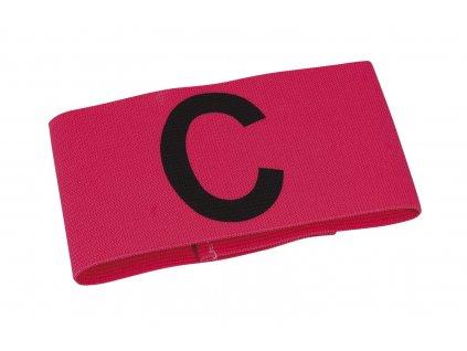 Kapitánská páska Select Captains band růžová