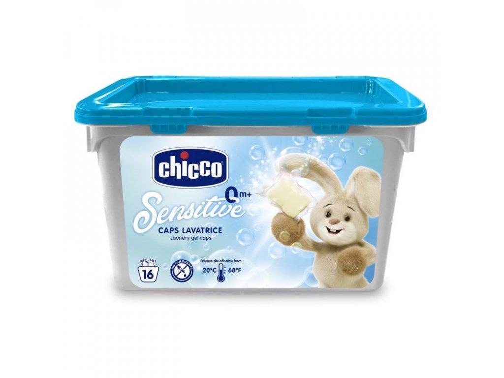 CHICCO Kapsle prací gelové Chicco Sensitive, 16 ks