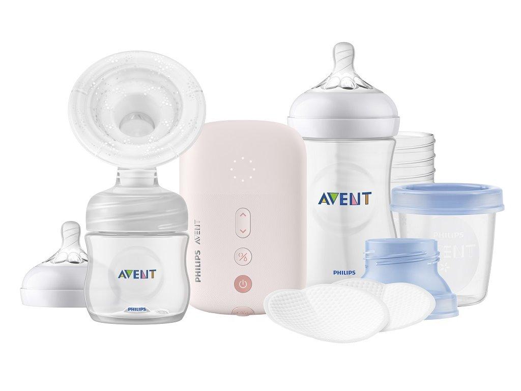 Philips AVENT Odsávačka mateřského mléka elektronická Single sada SCD395