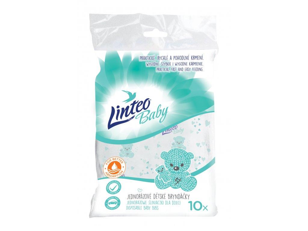7110 jednorázové bryndáčky LINTEO BABY 10ks N