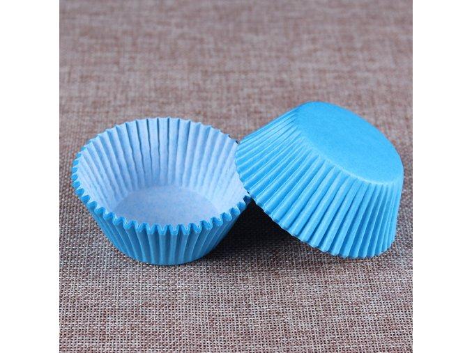 modré jednobarevné