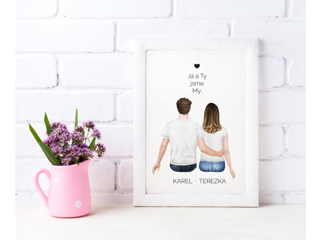 Já a ty jsme my plakát mock