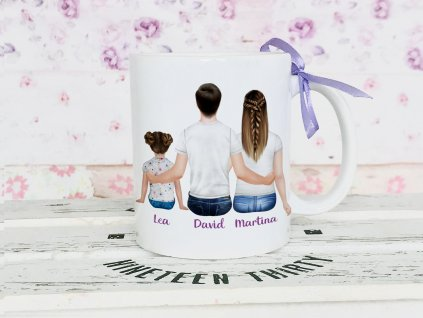 máma táta a dcera