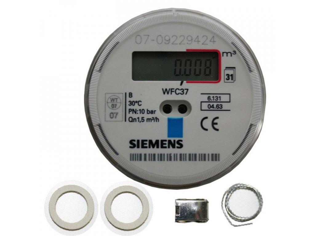 "Elektronický průtokoměr/vodoměr 3/4"" Siemens"