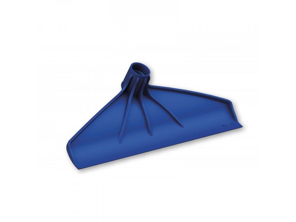 Stěrka na hnůj, plastová, 38 cm, modrá