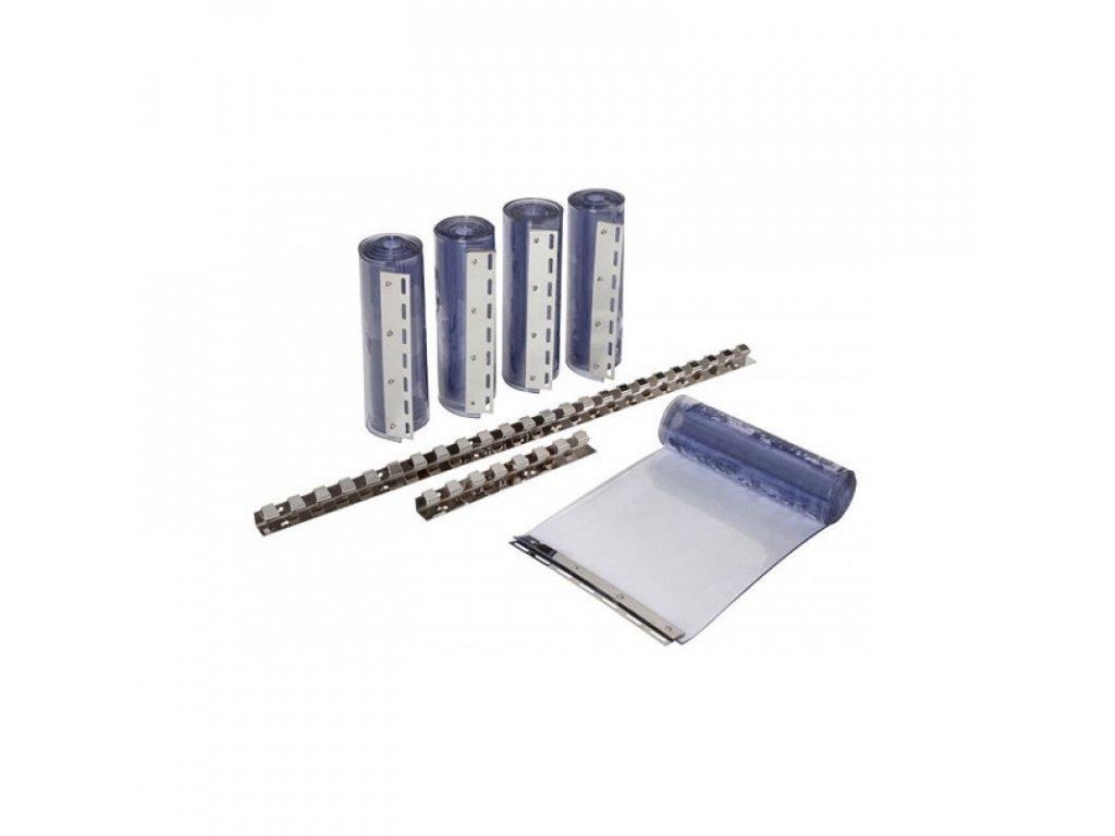 Pásový závěs PVC sada, délka 225 cm
