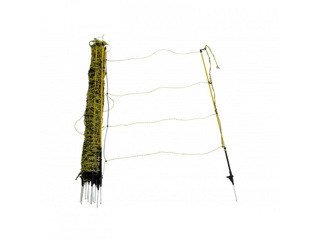 Síť pro elektrické ohradníky na ovce Easynet 105 cm, 50 m, 1 hrot