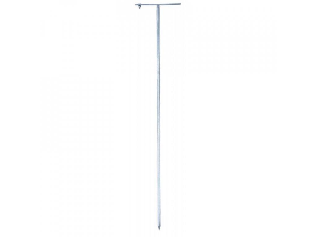 Tyč zemnící pro el. ohradník, kulatá, 75 cm s T rukojetí pro mobilní ohrady