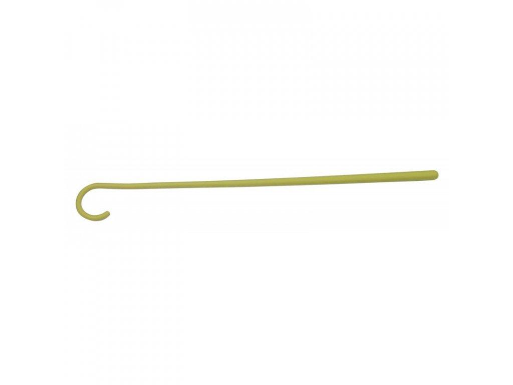 Hůl pastýřská nožní, plastová, 90 cm