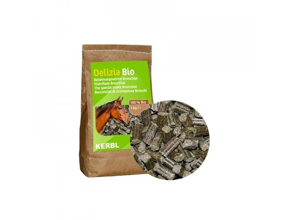 Pamlsek pro koně DELIZIA BIO BRONCHIAL, 1 kg