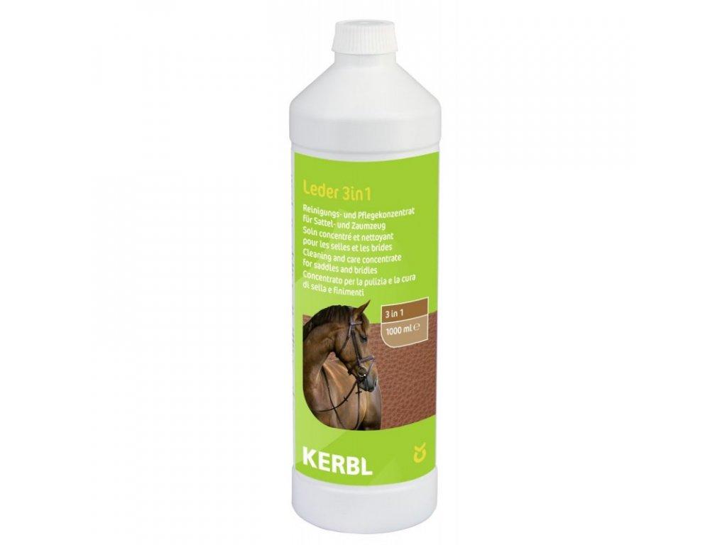 Přípravek na ošetření výrobků z kůže 3v1, 1000 ml