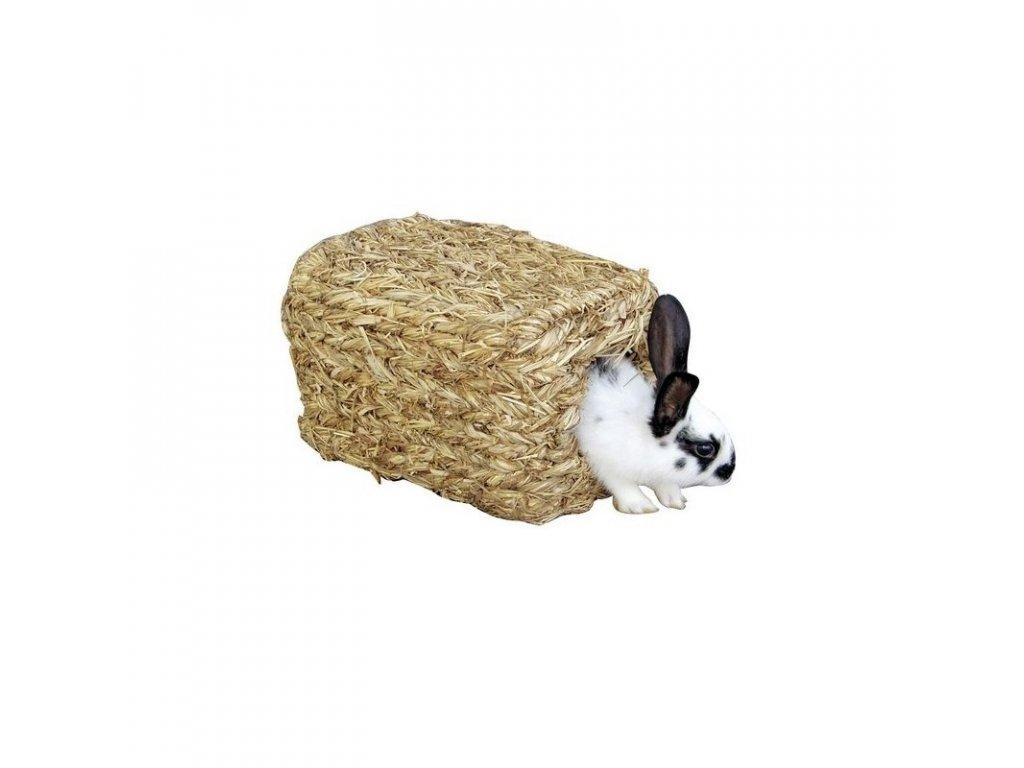 Domek pro králíky z trávy, 28 x 18 x 15 cm