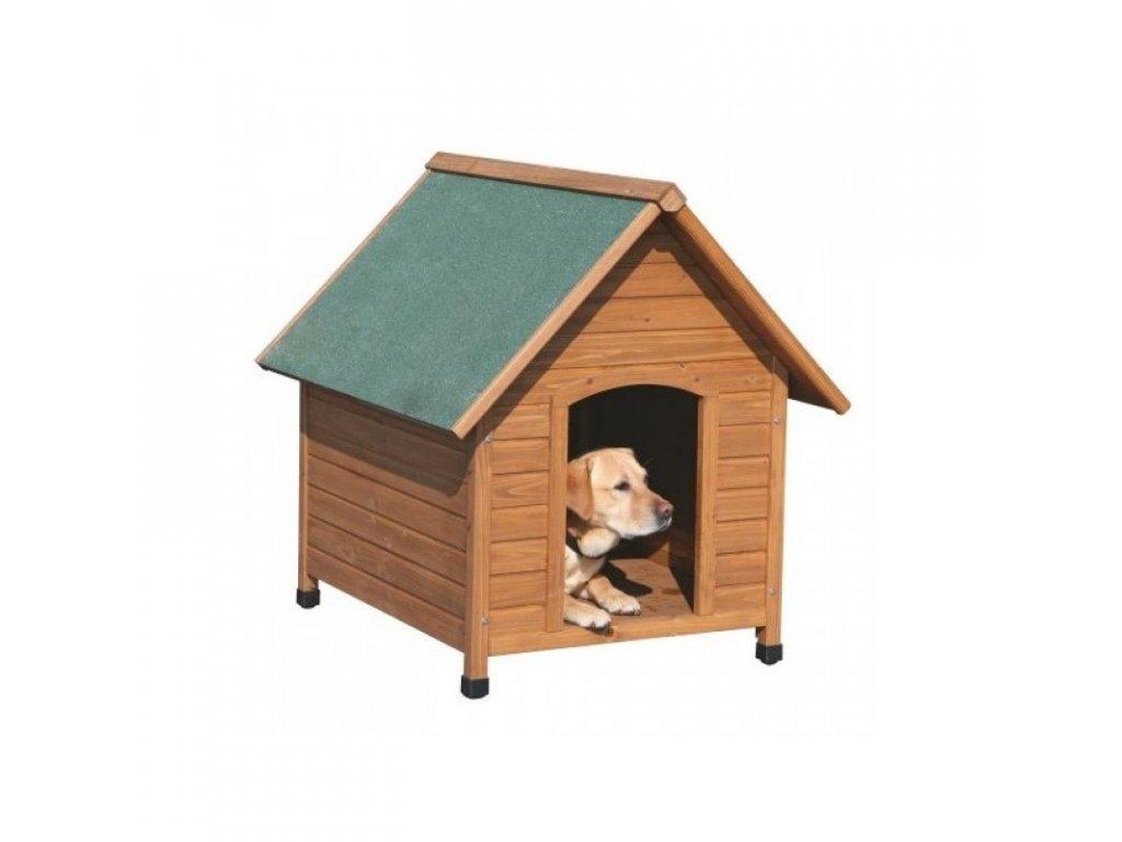 Bouda psí dřevěná, 85x73x80cm