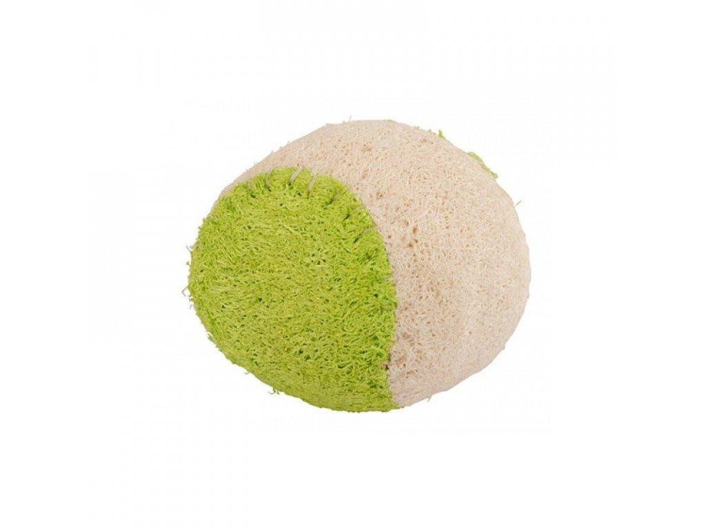 Hračka pro psy z luffy - tenisový míček