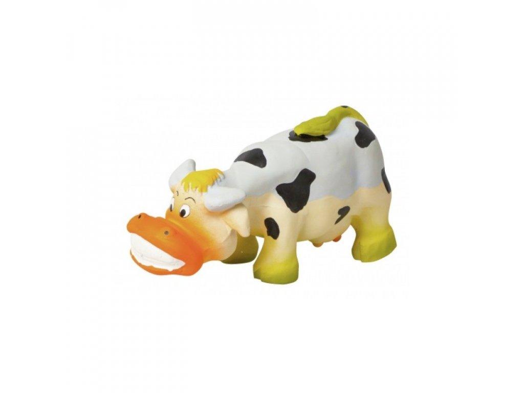 Hračka pro psy gumová - kráva 17 cm