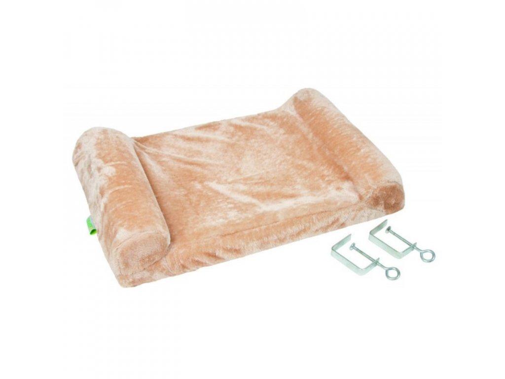 Pelíšek pro kočky - lehátko na parapet, 56x36x7cm