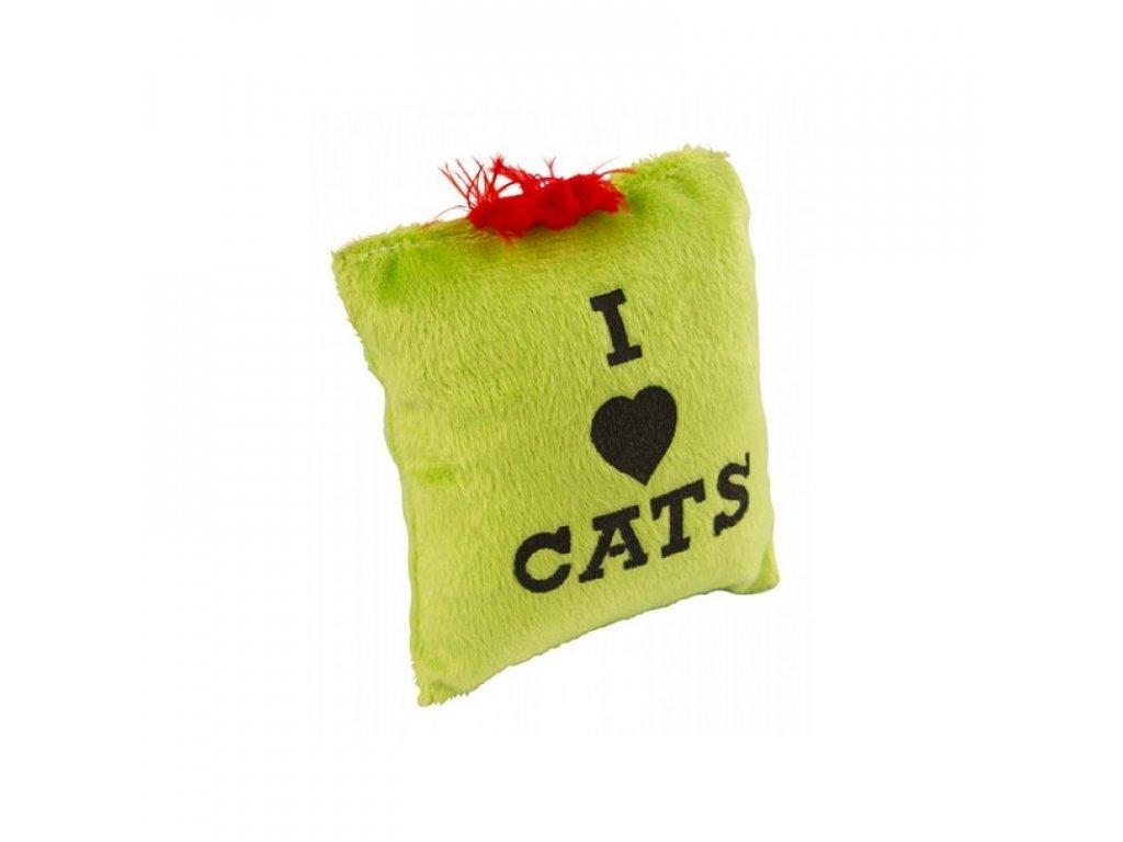 Polštářek pro kočky s catnipem