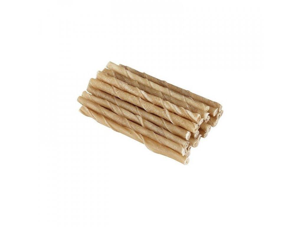 Tyčinka žvýkací točená 12,5 cm, 25 ks