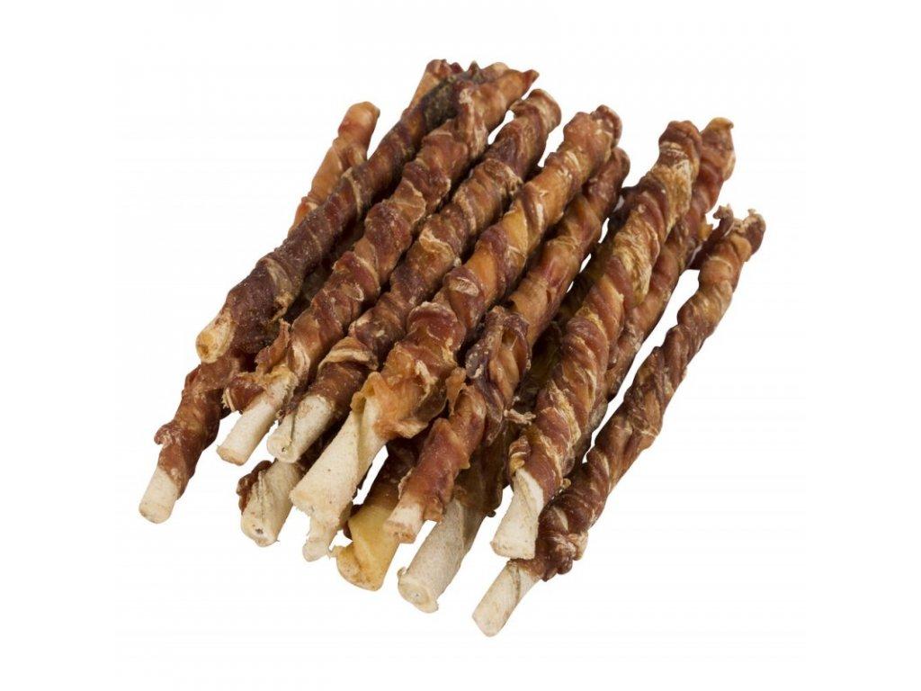 Kerbl tyčinka žvýkací točená s bůvolím masem,12 cm, 100 g