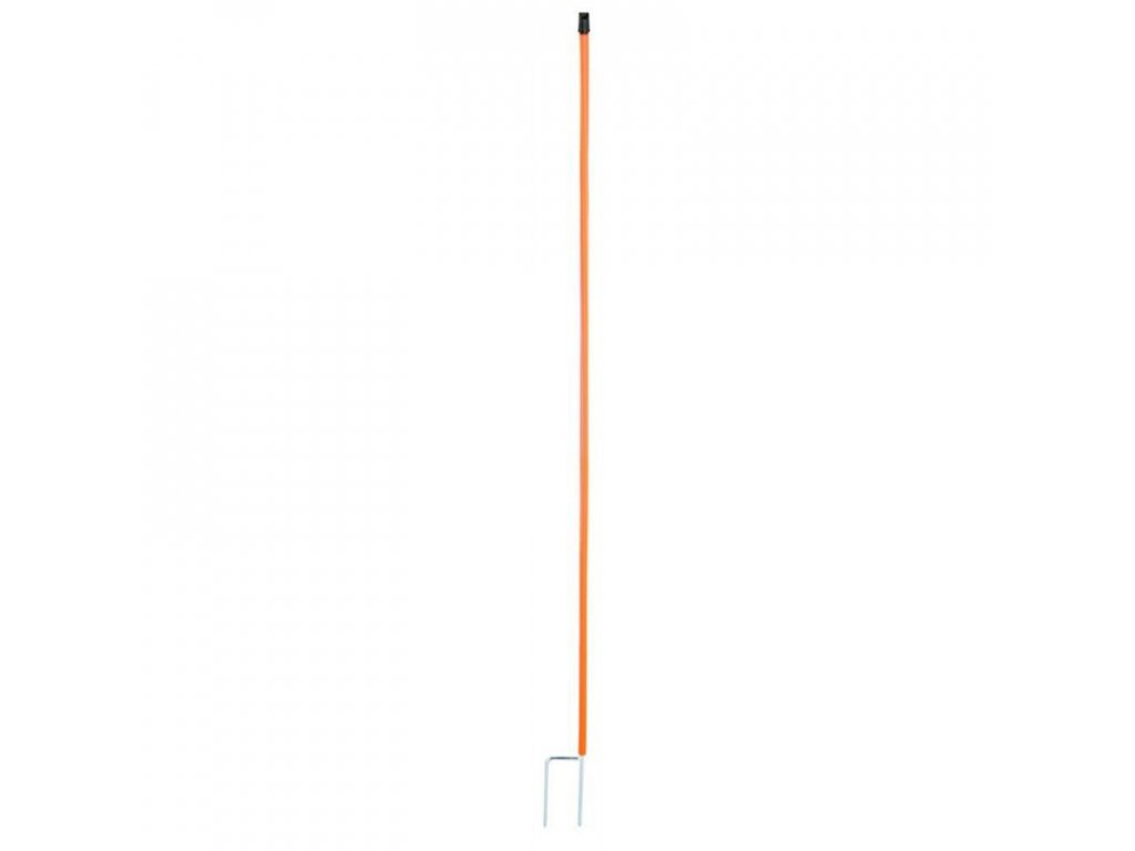 Tyčka náhradní k ohradníku pro drůbež 112 cm, 2 hroty, oranžová